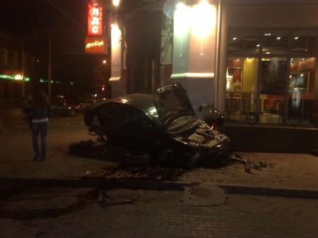 Авария на МакДональдс